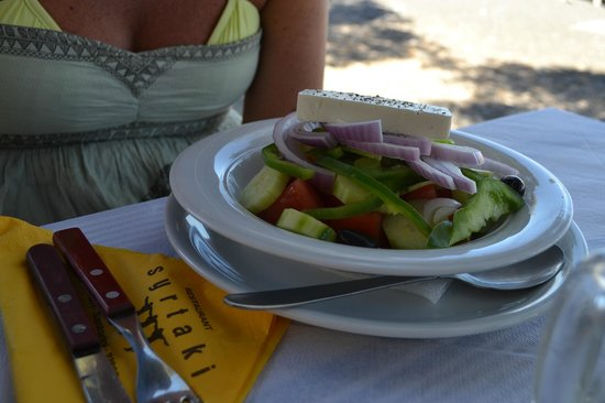 Syrtaki Restaurant: insalata greca
