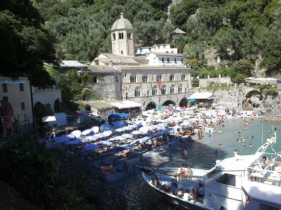 Camogli, Italie : senza parole