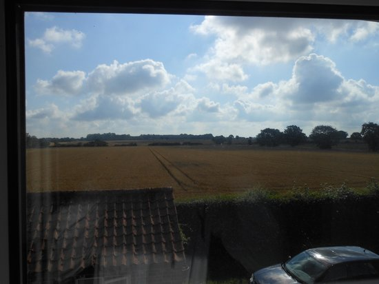 Yaxham Mill: view from room