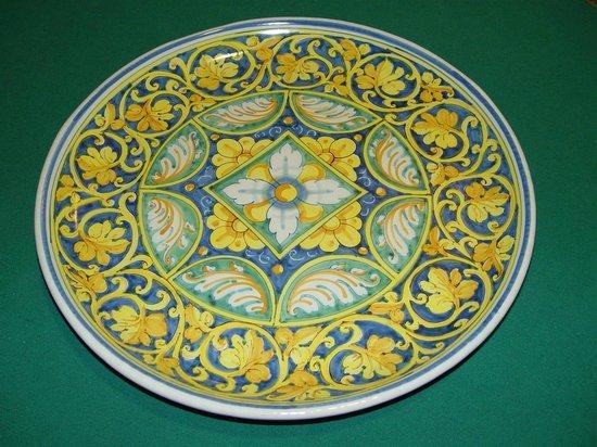 Piatto tre erre foto di ceramiche tre erre palermo tripadvisor
