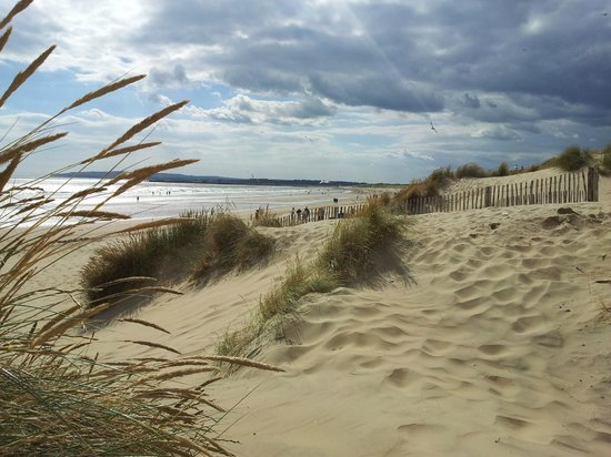 Cliff Farm: Nearby Camber Sands Beach (a few miles drive)