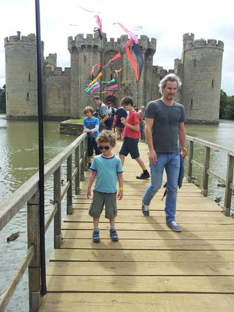Cliff Farm: Nearby Bodiam Castle (15 mins drive)