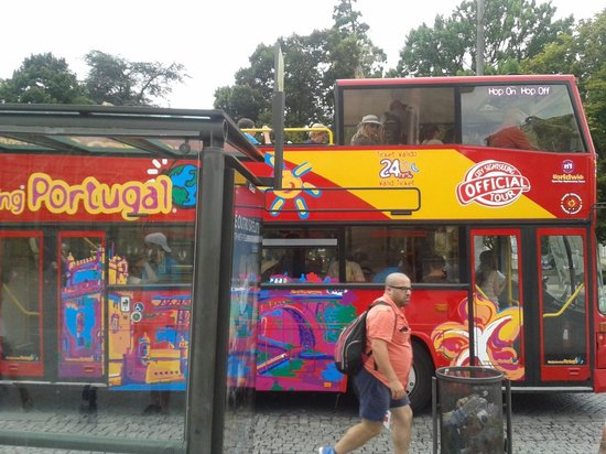 City Sightseeing Porto: The bus
