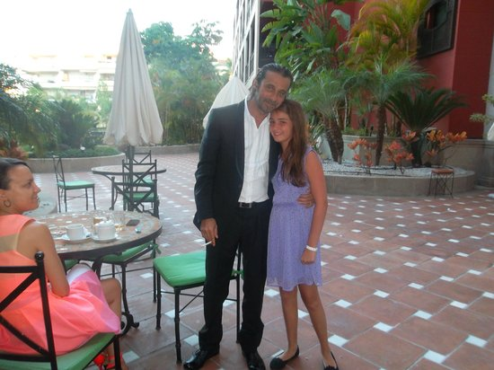 Barceló Marbella: Todo muy limpio y en buen estado para conversas y tomar algo