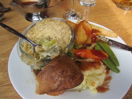 McHalls Bistro: vegie sunday roast