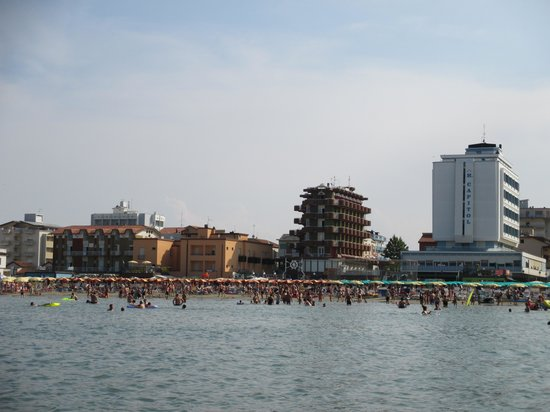 Hotel Riposo: Direttamente sulla spiaggia!!!