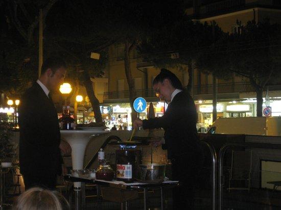 National Hotel : le crepes del mercoledì dopo cena