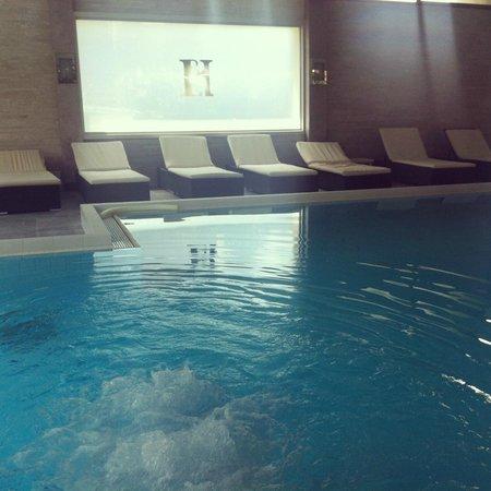Terme Milano Hotel : Piscina termale coperta