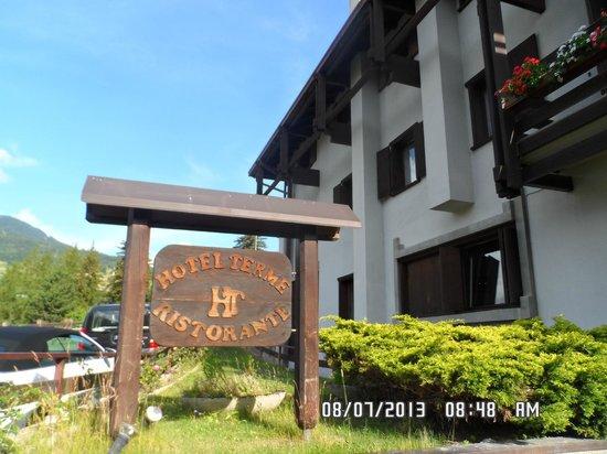 Hotel Terme Bormio: ön cepheden görünüm