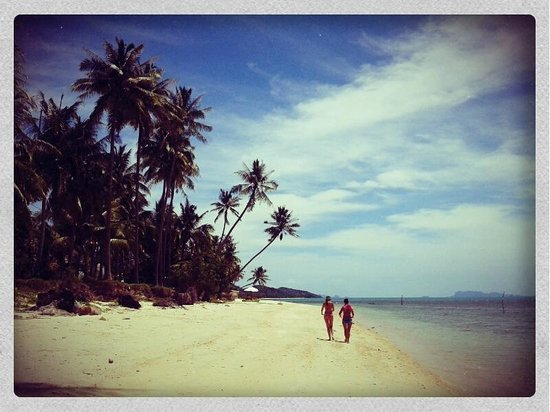 Artrium Tropical Exclusive Club & Spa: öffentlicher Strand beim Mimosa Resort