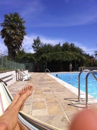 Fernhill Hotel: my foot