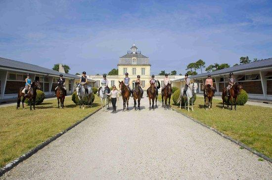 Centre equestre municipal ucpa de saint Medard en Jalles