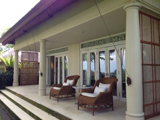 Uma by COMO, Ubud : Notre villa de l'extérieur