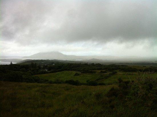 Clifden ecoBeach Camping & Caravanning Park : hear comes the rain