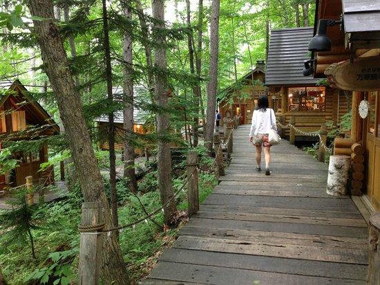 Ningle Terrace: Beautiful forest shopping