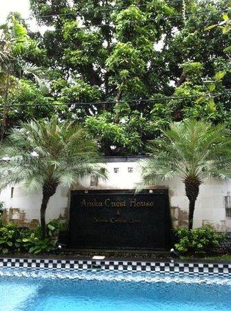 Anika Melati Hotel and Spa: à l'entrée