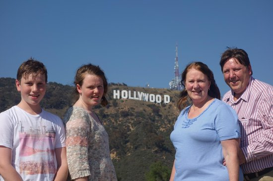 Legends Of Hollywood Tours: Morgans go to Hollywood