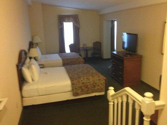 Conwell Inn: La nostra camera con un bagno all'altezza