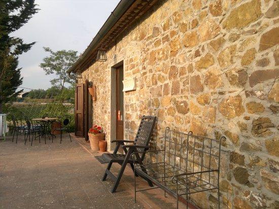 Podere le Vigne : Eingangstür