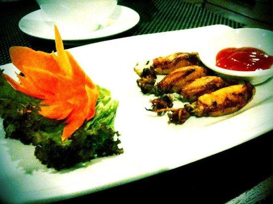 Muine Bay Resort: Fried squids