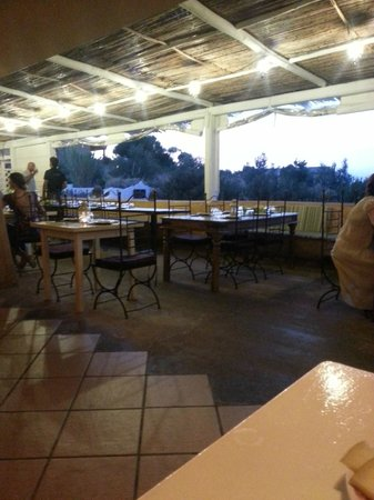 AgriRistoChic Resort Li Espi: dal nostro affezionatissimo tavolino...