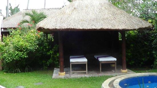 Furama Villas & Spa Ubud: Zona massaggi