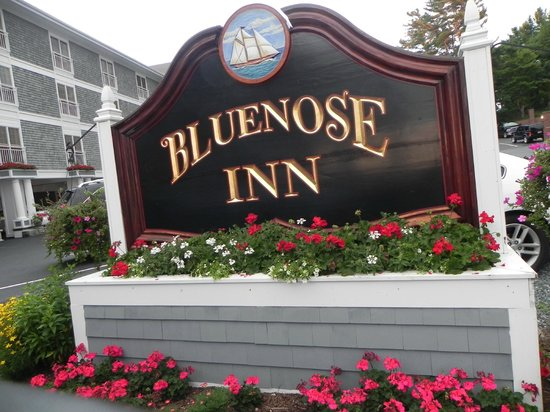 Bluenose Inn - A Bar Harbor Hotel: l'insegna