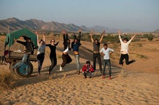 Pushkar, Indien: Group  photo