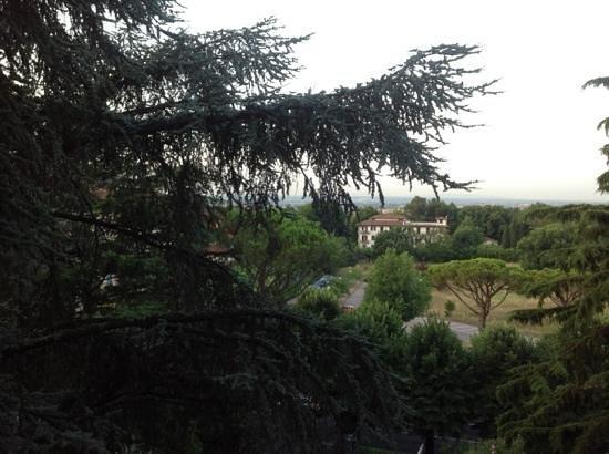 Grand Hotel Panoramic: вид из окна