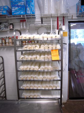 Inn at Celebrity Dairy : Fresh goat cheese