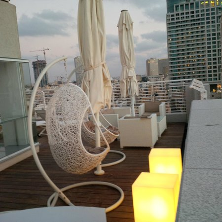 The Savoy Sea Side Hotel: Roof Terrace
