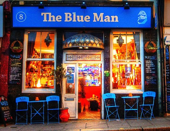 Photo of Lounge The Blue Man at 8 Queens Rd, Brighton BN1 3WA, United Kingdom
