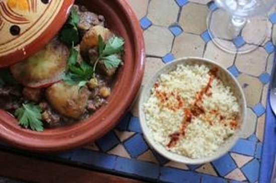 The Blue Man: Daily tagines
