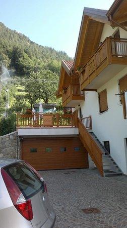Bed and Breakfast Casa dei Ricci: vista esterna camere