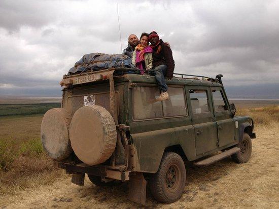 Sakina campsite: safari ngoro ngoro