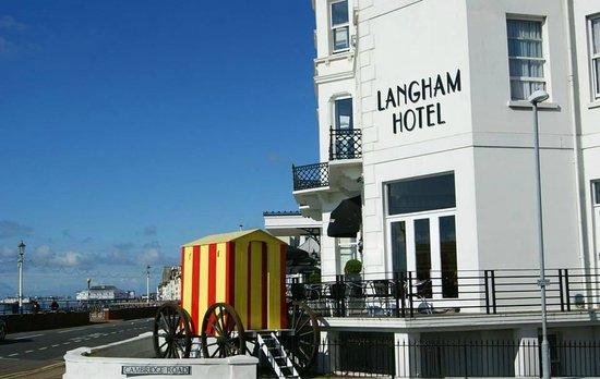 Langham Hotel: Bathing hut