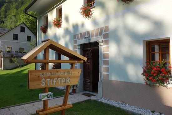 Kmecka hisa Stiftar: Tourist Farm Stiftar open in 2013