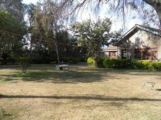 Sakina campsite: giardino