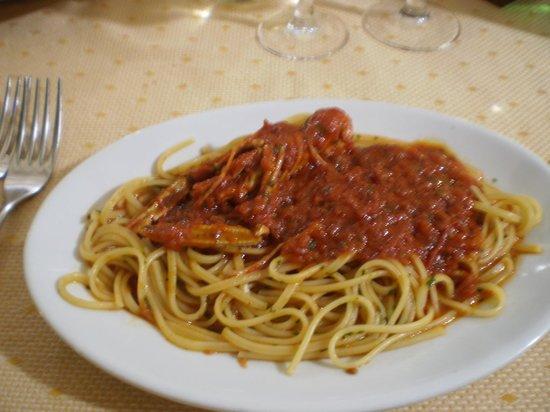 Hotel Mediterraneo : linguine con gli scampi mangiati in hotel