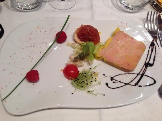 Le Cantorbery : foie gras