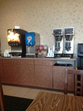 Ho-Chunk Gaming Black River Falls Hotel: coffee and juice bar