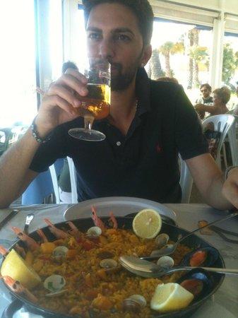 Restaurante Rompeolas : Paella de Mariscos & Cerveza