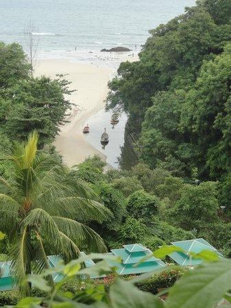 The Aspasia Phuket: View from balcony to beach