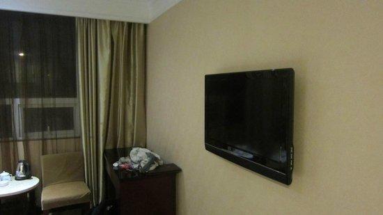 Golden Fortune Hotel Zhuhai : tv