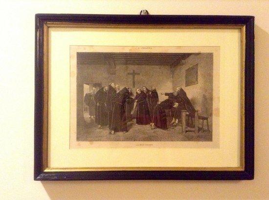 Il Chiostro del Carmine: Репродукция на стене