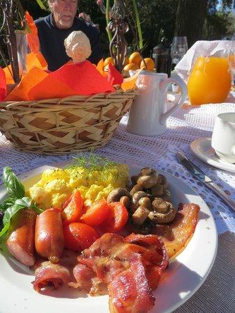 Montpellier De Tulbagh: Breakfast