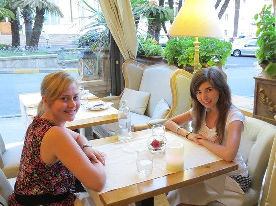 Hotel Cortese : в ресторане отеля
