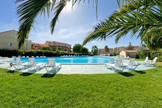 Cela Canet - Residence Malibu Village : Vue piscine Sierra