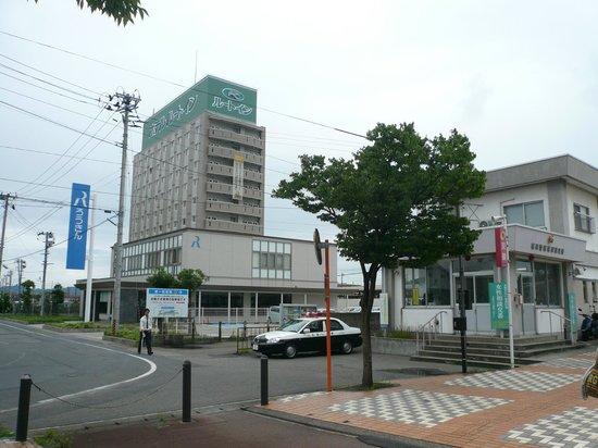 Hotel Route Inn Tsuruoka Ekimae : ekimae hiroba kara satsuei