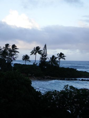 Kapaa Sands: View from balcony
